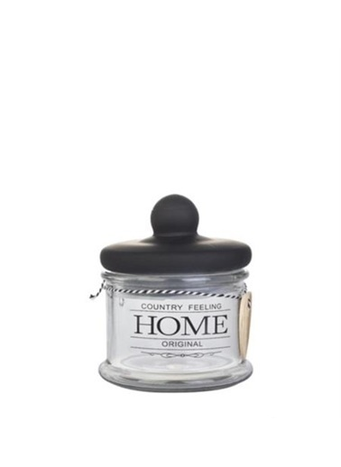 Acar Home Sweet Home Cam Kavanoz 15,5 Cm Renkli
